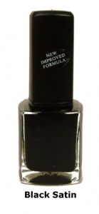 <b>BYS Nail Polish - Black Satin No. 02</b>